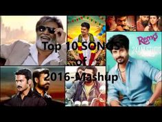 Top 10 best tamil hits of 2016- Mashup