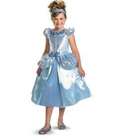 Look at this #zulilyfind! Disney Princess Cinderella Shimmer Costume Set - Girls #zulilyfinds