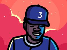 Chance 3 designed by Elias Stein. Connect with them on Dribbble; Chance The Rapper Art, Chance The Rapper Wallpaper, Rap Wallpaper, Cartoon Wallpaper, Chance 3, Hip Hop Art, Dope Art, Freelance Illustrator, Album Covers