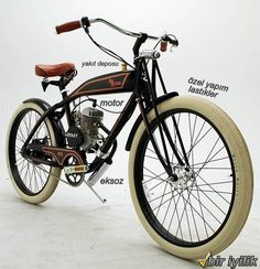 Ridley Vintage Motorized Bicycles