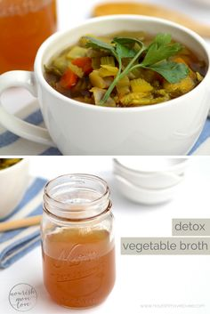 when i think light, healthy recipes to tighten up, i think slow cooker detox vegetable soup; loaded with fresh vegetables, vitamins, and minerals. Easy Crockpot Chicken, Healthy Chicken, Healthy Vegetables, Fresh Vegetables, Detox Vegetable Soup, Turmeric Detox, Soup Broth, Lunch Meal Prep, One Pot Meals