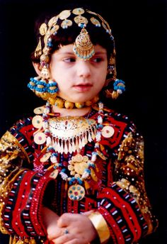 A BALOCH girl in Iran ...