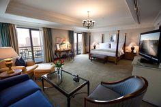 Royal Suite Bed Room - Conrad Cairo