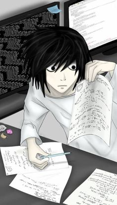 DEATH NOTE / L or Beyond (by マレ クリス)