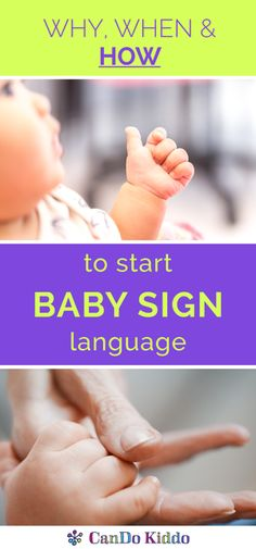 Why, When, and How to Start Baby Sign Language — CanDo Kiddo
