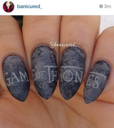Game of Thrones Themed Nails