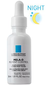 Treatment for brown spots and melasma.  Contains: kojic acid.  Available at: CVS