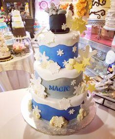 "Winter themed baby shower cake for ""magic"" #carinaedolce www.carinaedolce www.facebook.com/carinaedolce Baby Shower Cakes, Baby Shower Themes, Winter Theme, Magic, Facebook, Desserts, Food, Meal, Deserts"