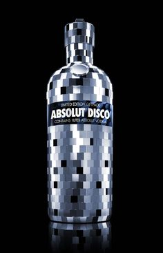 25 Absolut Editions - Absolut Disco - The Dieline -