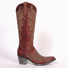 Our cowboy boots bond the time-honored art of handmade boots with a contemporary flair for fashion. Old Gringo Boots are unique, comfortable and made with the highest quality leathers. We add art to footwear using embroidery, Swarovski crystals, stud patt Miss Texas, Old Gringo Boots, Fashion Marketing, Cowboy Boots, Swarovski Crystals, Old Things, Footwear, Leather, How To Wear