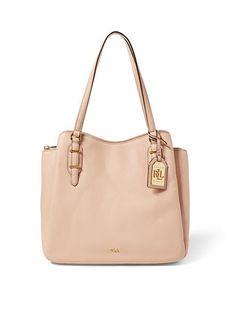 Lauren Ralph Lauren Fenmore Leather Hobo Bag 04997a2f0fd0a