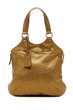 Yves Saint Laurent Classic Handbags Bronze Tote