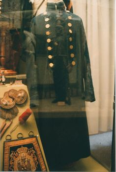 Capot (overcoat), Grenadier of the First Batallion, First Regiment, Grenadiers a Pied de la Garde (1812-1814)
