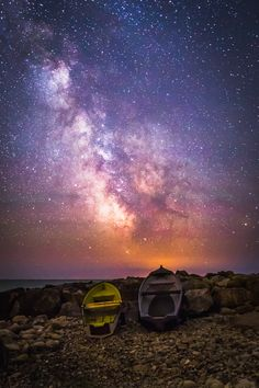 Galactic Rainbow at Castle Haven - A 360 Degree View of the Milky Way