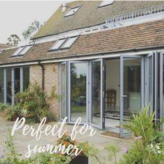 Allstyle windows, Bedfordshire Garden Design, House Design, Be Perfect, Garage Doors, Windows, Interior Design, Outdoor Decor, Summer, Inspiration