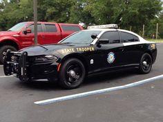 Florida, Florida Highway Patrol, Dodge Charger vehicle.