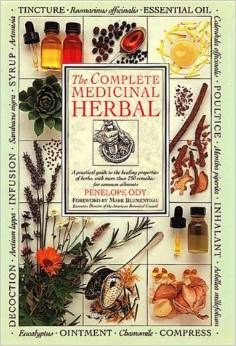 The Complete Medicinal Herbal book.