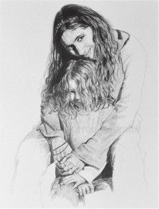 amanda by Carol Herren Foerster. On display at the Art of the State Show, State Museum of #Harrisburg in 2014. http://www.adamsarts.org