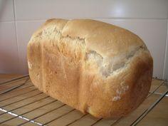 Corteza y miga: Pan blanco en panificadora