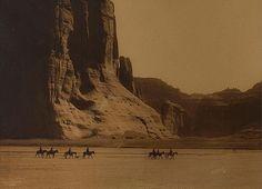 November 13, 2012: Canon de Chelly Navajo 1904, photo by Edward S. Curtis
