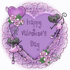 Happy Valentine's Day - Glitter Graphics: the community for graphics enthusiasts! Valentines Qoutes, Happy Valentines Day Pictures, Valentine Love Cards, Valentines Greetings, Valentines Day Hearts, Valentine Heart, Valentine Crafts, Beautiful Flowers Images, Beautiful Gif
