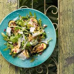 Grilled courgettes, mint and pecorino makes for one punchy, delicious salad: http://h.ouse.co/GW3jAJ