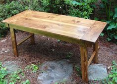 r2 36 x 21 Inch Farm Door Table or Desk by mr2woodworking on Etsy