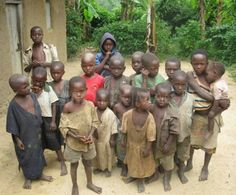 Orphanage in Uganda. My heart Breaks for this country and I know one day God is sending me there.