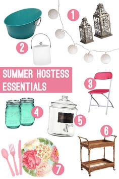 Summer Hostess Essentials