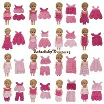 Pretty in Pink (for child fashion dolls) Free Crochet Pattern