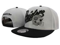 e197e616d301b  8.00 Mitchell and Ness NFL Oakland Raiders Stitched Snapback Hats 041