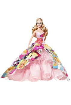 Generations of Dreams 2009 Barbie Doll. I own her  :) One of my favorites. She has a huge box!
