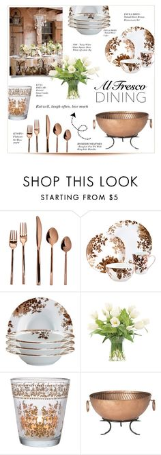 """""""AL FRESCO"""" by larissa-takahassi ❤ liked on Polyvore featuring interior, interiors, interior design, home, home decor, interior decorating, Paula Deen, NDI, Cultural Intrigue and Home Decorators Collection"""