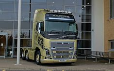 Download wallpapers Volvo FH16, 2017, Ailsa Edition, UK, 50 years of Volvo Trucks, modern trucks