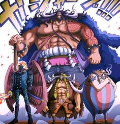 The 3 Commanders Of The Straw Hat Pirates One Piece Manga, One Piece Fr, One Piece Figure, One Piece Chapter, Zoro One Piece, One Piece World, Last Game Manga, Kaido One Piece, Big Mom Pirates