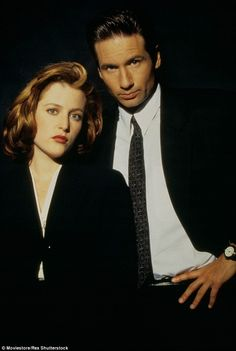 Back in the frame: Agents Dana Scully and Fox Mulder will continue their search for 'the t...