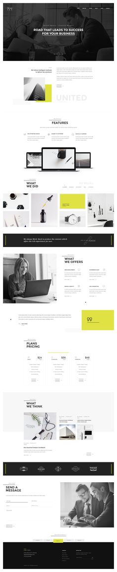 UNITED - Minimal Multipurpose PSD Template by Templines | ThemeForest