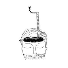 Le poetiche illustrazioni a penna di Fernando Cobelo | Collater.al