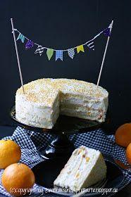 Zimtkeks und Apfeltarte: Zur Feier des Tages: Orangen-Mascarpone-Torte