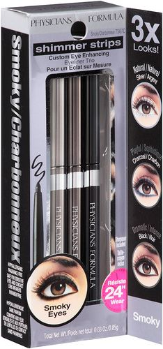 Physicians Formula Shimmer Strips Eye Enhancing Eyeliner Trio - Universal Looks: Smoky Eyes (7567C) $14.79 - from Well.ca