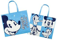 It appears Disney is making moves to implement reusable bags throughout Walt Disney World Resort with park-specific themed bags. Disney World Guide, Disney World Parks, Disney World Resorts, Disney Souvenirs, Disney Destinations, Disney Vacations, Disney On Ice, Disney Cruise Line, Disney Stuff