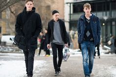 Stockholm Fashion Week Fall 2014 Street Style Day 1. #streetstyle