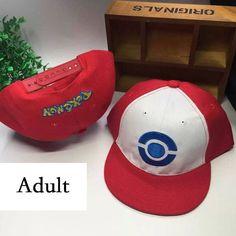 Ash Ketchum, Pikachu Baseball Caps for children