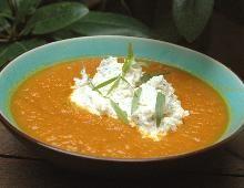 Recette Soupe de carottes au curry, notre recette Soupe de carottes au curry - aufeminin.com
