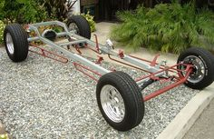 California Custom Roadsters T-Bucket Chassis Plans, CCR T-Bucket Plans Custom Trikes, Custom Cars, Weird Cars, Cool Cars, Go Kart Plans, Motorcycle Trailer, Sand Rail, T Bucket, Ford Models