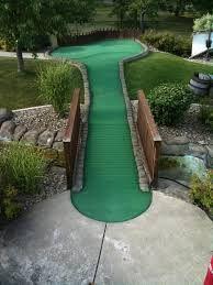 how to build a backyard putt putt golf course