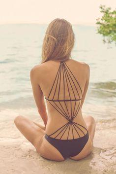 Hottest Honeymoon Swimwear Ideas for 2015 Your Guy Will Adore - Seychelles via Nic del Mar