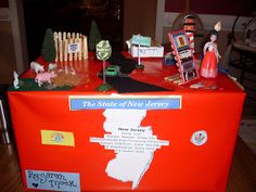 state project | Sarah did her NJ project (her favorite state!) Since she could not ...