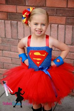 Maybe angie's or Stephanie's superhero costume. Super girl superhero tutu dress and costume via Etsy Cute Costumes, Super Hero Costumes, Halloween Costumes, Girl Halloween, Superhero Tutu Costumes, Scarecrow Costume, Matching Costumes, Fairy Costumes, Halloween 2015