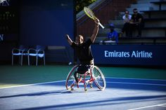 Wheelchair Quad Office Chair Pillow Back Support 23 Best Tennis Images Sneaker Athlete Lucas Sithole Wins The Singles Final Over No 1 Seed David Wagner